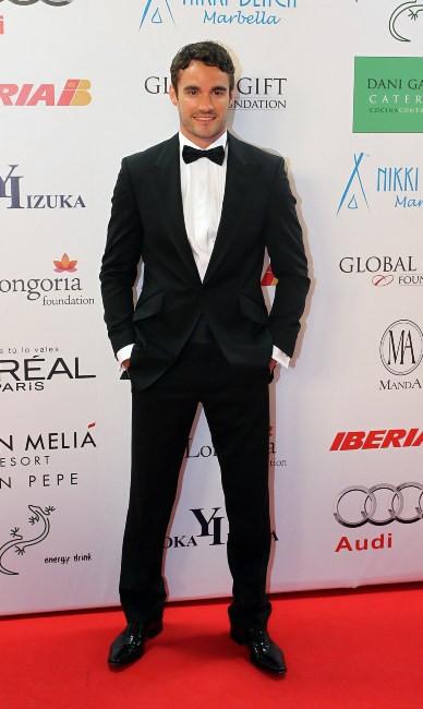 Thom Evans lors du Global Gift Gala à Marbella, le 4 août 2013.