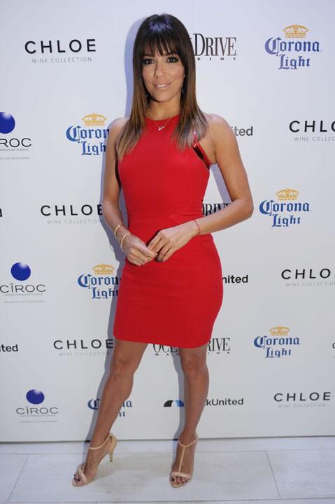 Eva Longoria à Miami le 14 mars 2014
