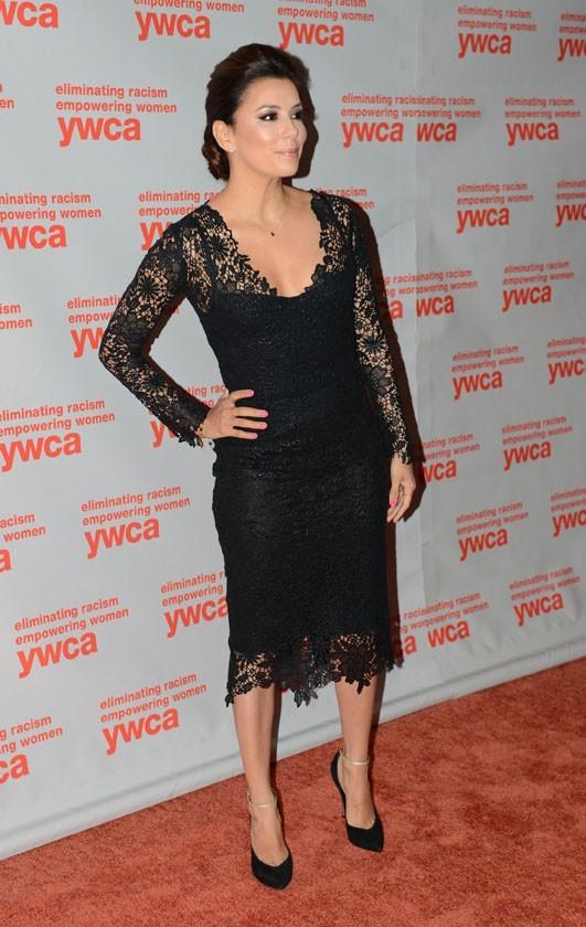 Eva Longoria à Washington le 7 juin 2013 pour recevoir le prix Dorothy I. Height