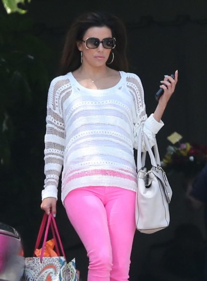 Eva Longoria, Los Angeles, 26 avril 2013.
