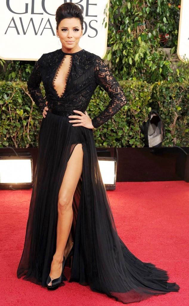 Eva Longoria aux Golden Globes
