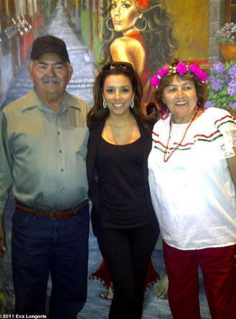 Eva Longoria peut compter sur le soutien sans faille de ses parents !