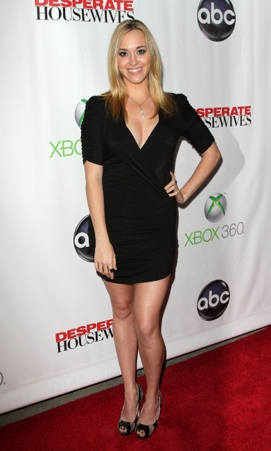 Andrea Bowen lors de la Desperate Housewives Final Party à L.A., le 29 avril 2012.