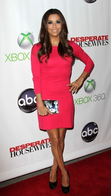 Eva Longoria lors de la Desperate Housewives Final Party à L.A., le 29 avril 2012.