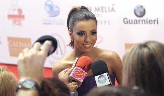 Eva Longoria à The Global Gift Gala à Marbella le 19 août 2012