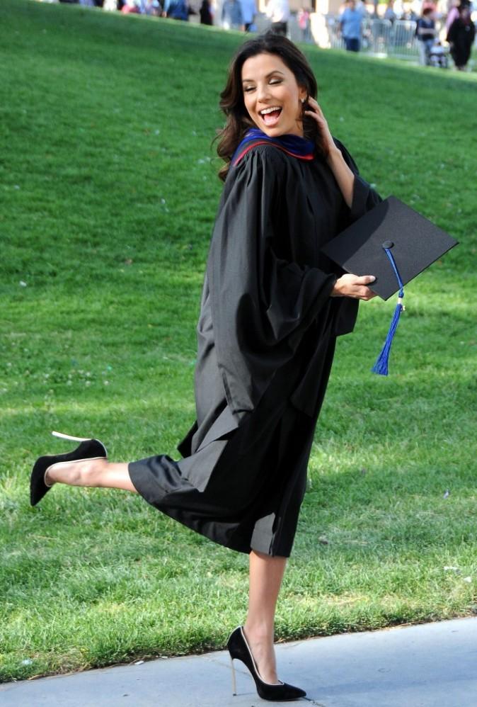 Eva Longoria est diplômée !
