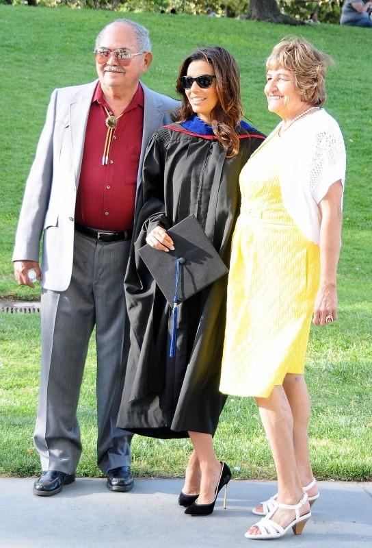 Eva Longoria et ses parents