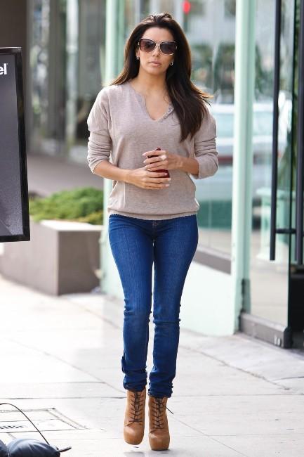 Eva Longoria le 22 octobre 2012 à Los Angeles