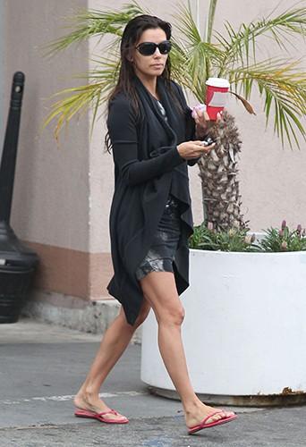 Eva Longoria à Beverly Hills le 7 août 2013