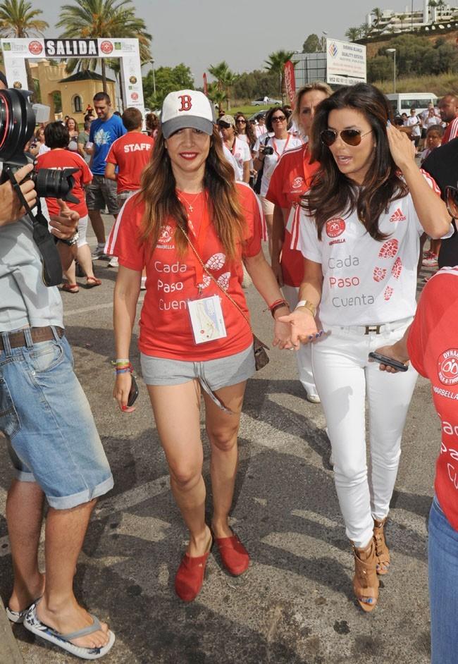 Eva Longoria le 18 août 2012 à Marbella