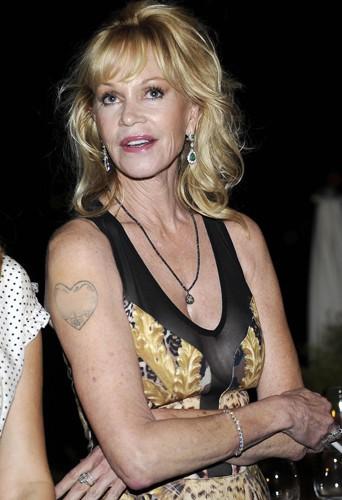 Melanie Griffith à Taormine le 17 juin 2014