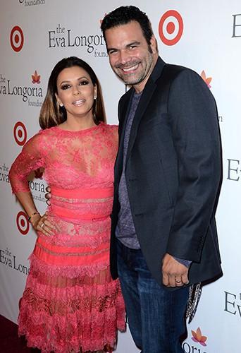 Eva Longoria et Ricardo Antonio Chavira à Hollywood le 28 septembre 2013