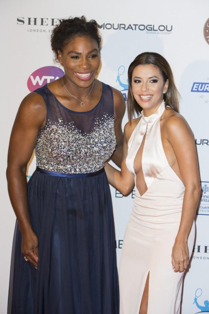 Eva Longoria et Serena Williams le 19 mai 2015