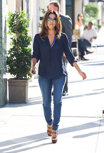 Eva Longoria à Los Angeles le 13 septembre 2013