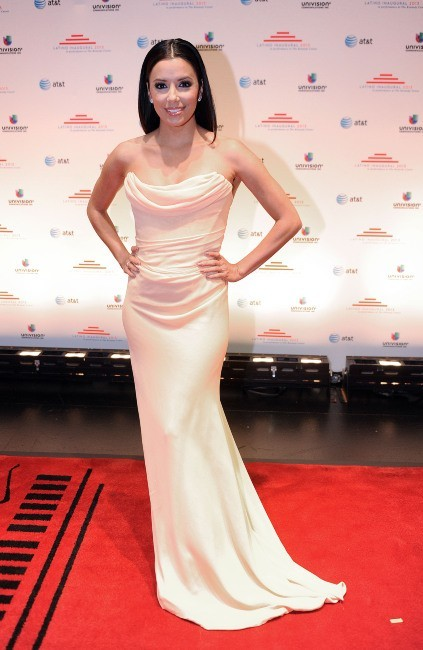 Eva Longoria lors d'une soirée à Washington DC, le 20 janvier 2013.