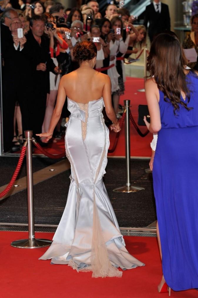 Eva Longoria lors de la cérémonie de clôture du Festival de Monte-Carlo, le 14 juin 2012.