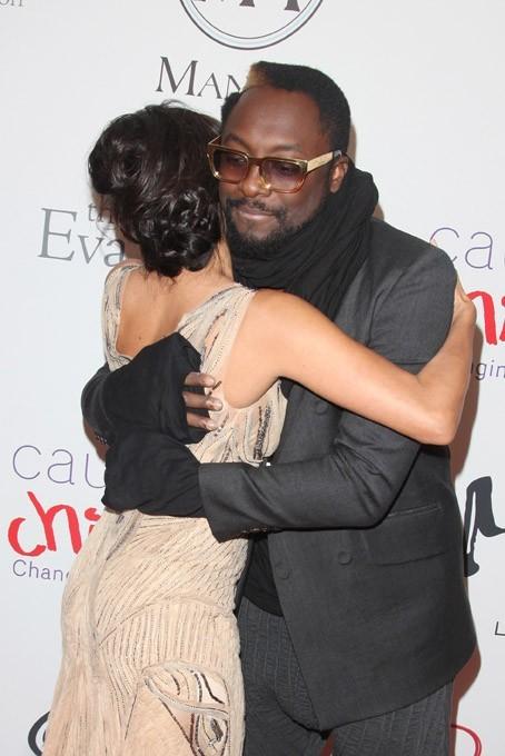 Eva Longoria et Will.I.Am au Noble Gift Gala à Londres le 8 décembre 2012