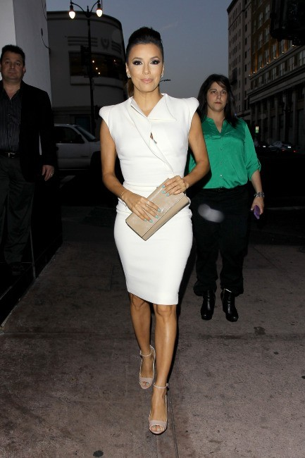 Eva Longoria à Hollywood, le 23 avril 2013.