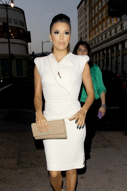 Eva Longoria à Hollywood, le 23 avril 2013.