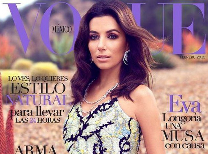 Photos : Eva Longoria : une businesswoman amoureuse et envoûtante en Une de Vogue Mexique !