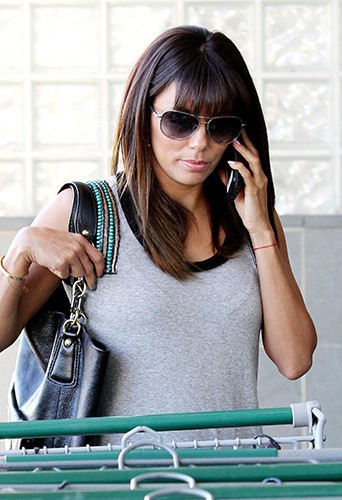 Eva Longoria à Los Angeles le 9 avril 2014