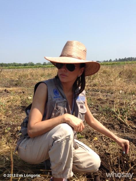 Eva Longoria en visite au Guatemala !