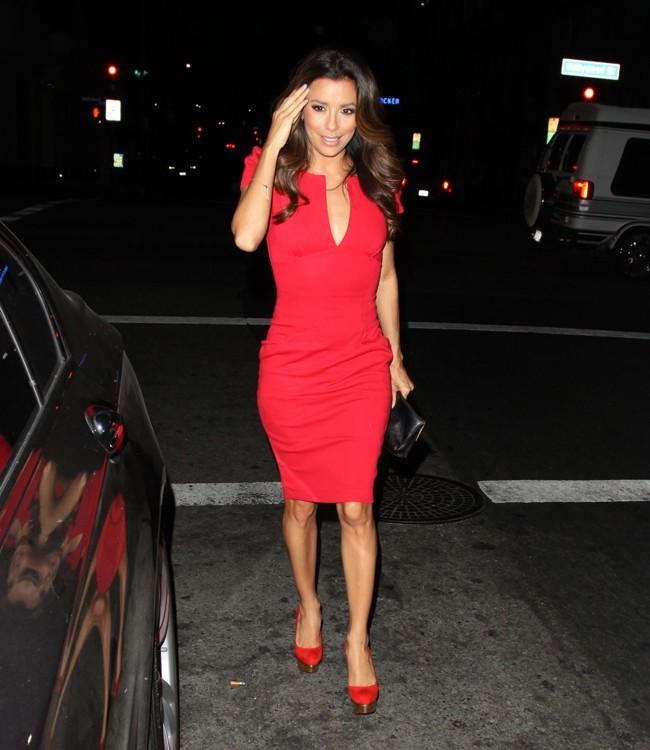 Eva Longoria le 14 août 2012 à Los Angeles