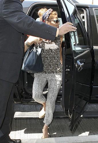 Eva Mendes à Los Angeles le 9 juillet 2013