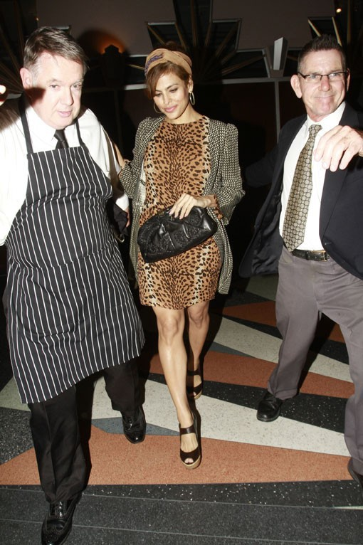 Eva Mendes à Los Angeles le 17 janvier 2015