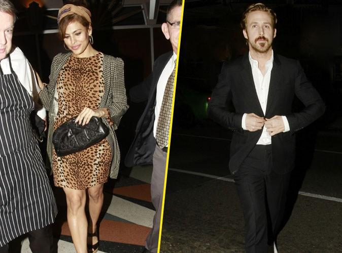 Eva Mendes et Ryan Gosling : les jeunes parents toujours ensemble, la preuve !