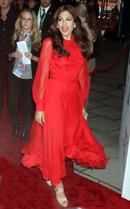 Eva Mendes au Festival du Film de TriBeCa à New York, le 25 avril 2011.