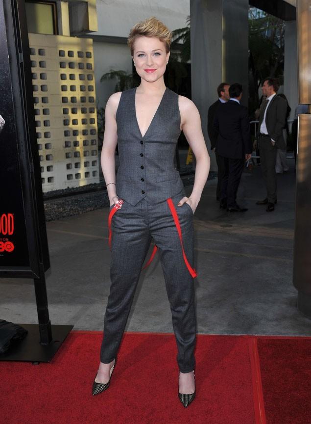 Hier soir à Hollywood pour l'avant-première de la saison 4 de True Blood !