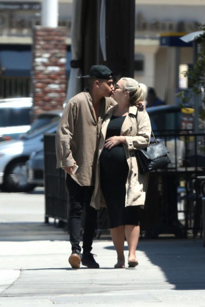 Ashlee Simpson et Evan Ross le 27 juillet 2015