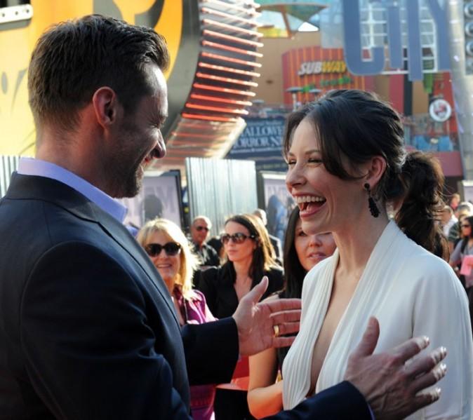 Elle retrouve Hugh Jackman sur le tapis rouge