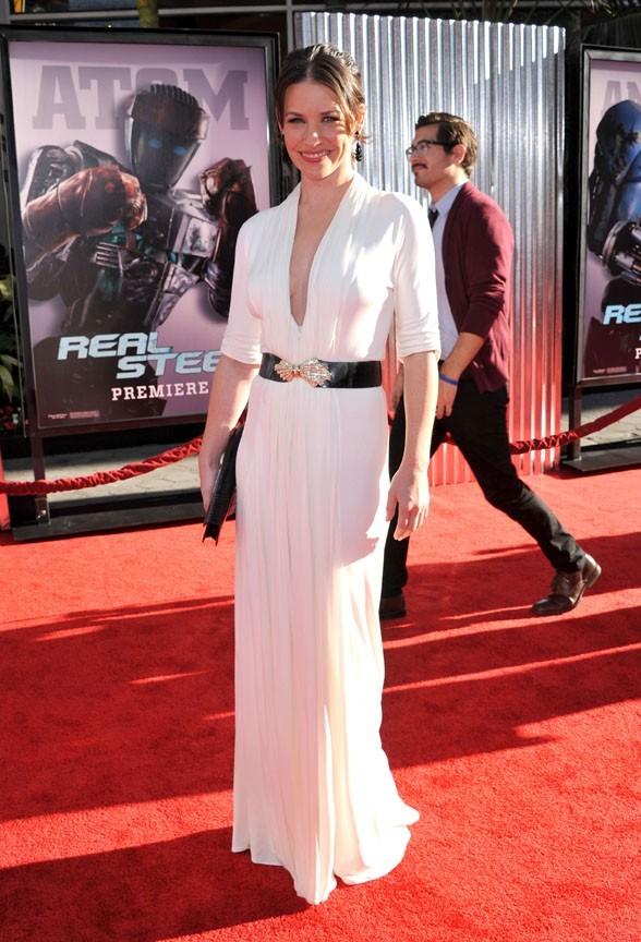 Evangeline Lilly à l'avant-première de Real Steel à Hollywood !