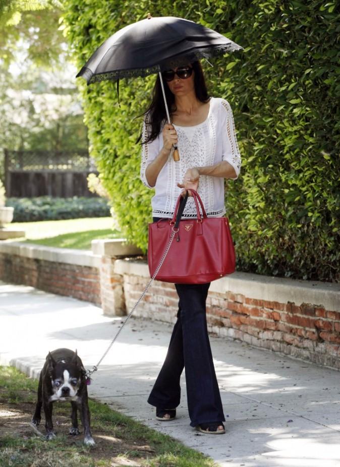 Famke Janssen, Los Angeles, 17 aout 2012.