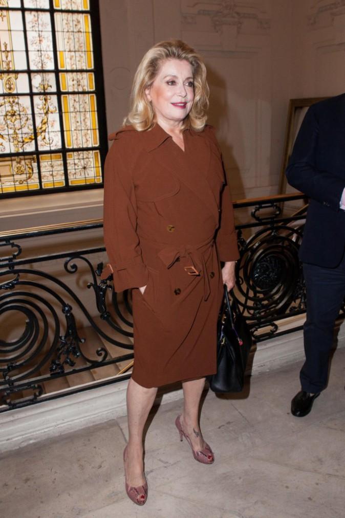 Catherine Deneuve à Paris, le 8 juillet 2015