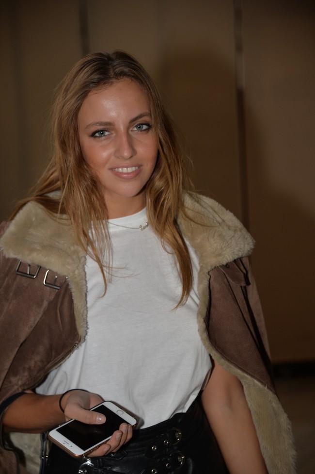 Carla Ginola le 4 octobre 2015