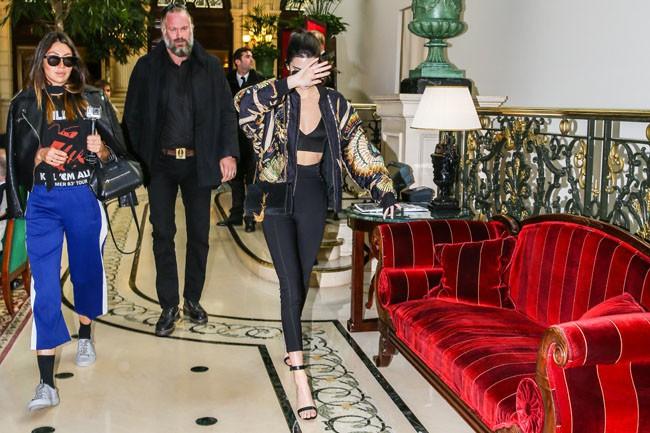 Kendall Jenner à Paris le 1er octobre 2015
