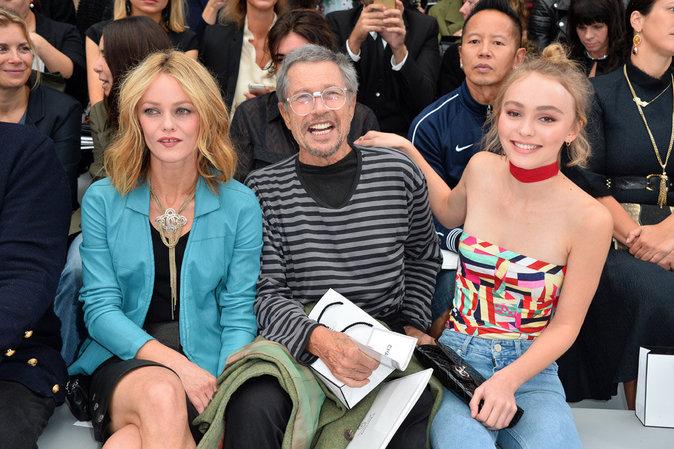 Vanessa Paradis et Lily-Rose Depp à Paris le 6 octobre 2015