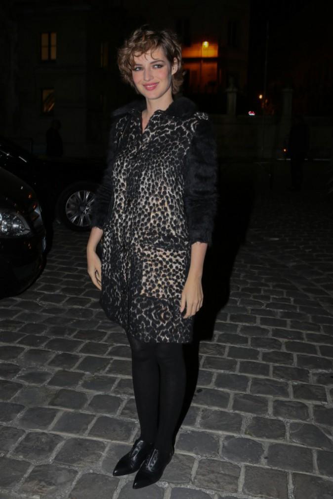 Louise Bourgoin à Paris le 1er octobre 2015