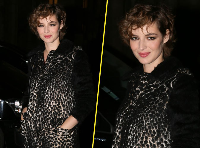 Fashion Week de Paris : Louise Bourgoin féline chez Lanvin !