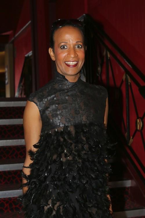 Vincent Mc Doom au défilé Haute Couture automne-hiver 2015-2016 Franck Sorbier à Paris, le 8 juillet 2015