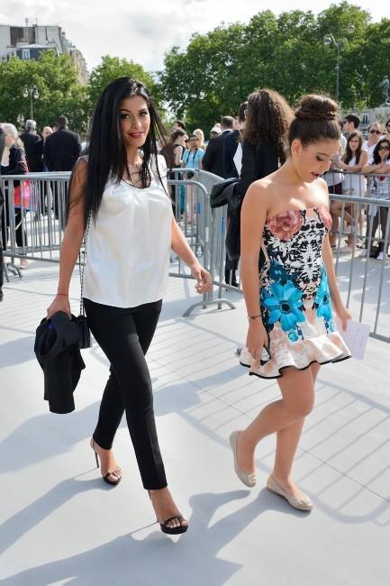 Ayem Noor lors du défilé Dior à Paris, le 1er juillet 2013.
