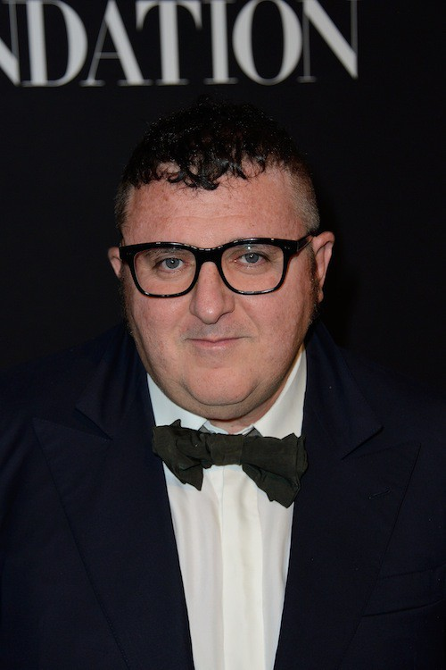 Alber Elbaz au gala Vogue Foundation le 9 juillet 2014