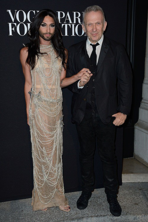 Photos : Fashion Week HC : Conchita Wurst : au centre de l