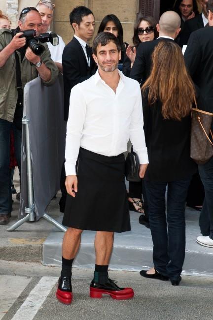 Marc Jacobs au défilé Dior Haute Couture à Paris, le 2 juillet 2012.