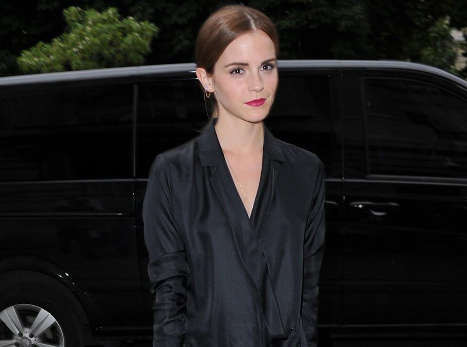 Photos : Fashion Week Hc : Emma Watson : Fatiguée Mais