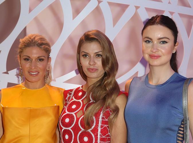 Hofit Golan, Victoria Bonya et Emma Miller à Paris le 10 juillet 2014