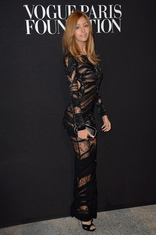 Photos : Fashion Week HC : Zahia Dehar : de plus en plus sexy, elle ose un nouveau look périlleux !